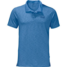 Jack Wolfskin Travel Polo Heren, wave blue